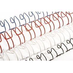 Grzbiety do bindowania drutowe, czarne, 9,5 mm, 100 sztuk, oprawa 56-65 kartek - Super Ceny - Rabaty - Autoryzowana dystrybucja - Szybka dostawa - Hurt