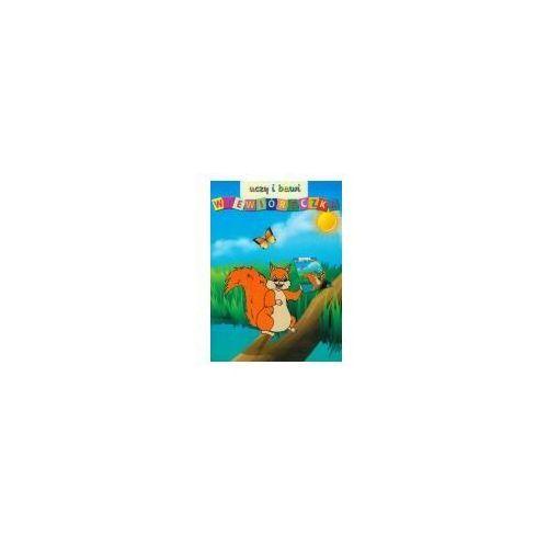 Książki dla dzieci, Wiewióreczka uczy i bawi (opr. miękka)