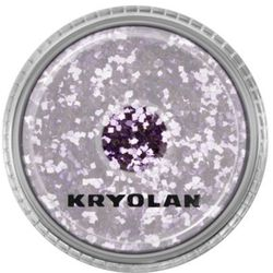 Kryolan POLYESTER GLIMMER COARSE (LAVENDER) Gruby sypki brokat - LAVENDER (2901)
