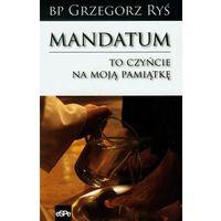 E-booki, Mandatum To czyńcie na moją pamiątkę - Grzegorz Ryś (MOBI)