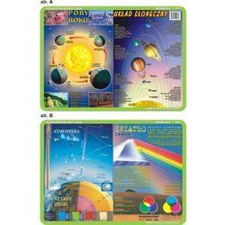 Podkładka edukacyjna. Układ słoneczny, pory roku, atmosfera, światło i kolory