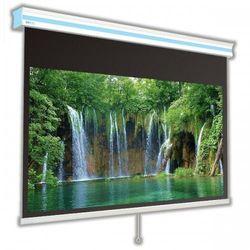 Ekran ręcznie rozwijany Avers Cirrus X 210x160cm, 4:3, White Ice