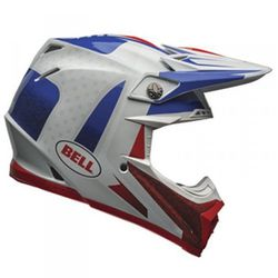 BELL MOTO-9 FLEX VICE BLUE/RED KASK MOTOCROSS