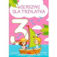 Książki dla dzieci, Wierszyki dla trzylatka (opr. twarda)