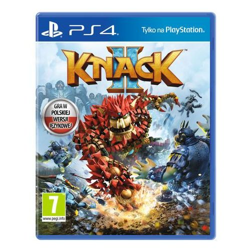 Gry PS4, Knack (PS4)