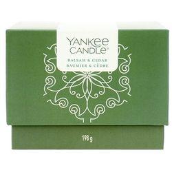 Yankee Candle Dárkový BOX 198g Balsam & Cedar