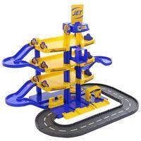 Pozostałe zabawki, Parking Jet 4-poziomy z drogą, pudełko