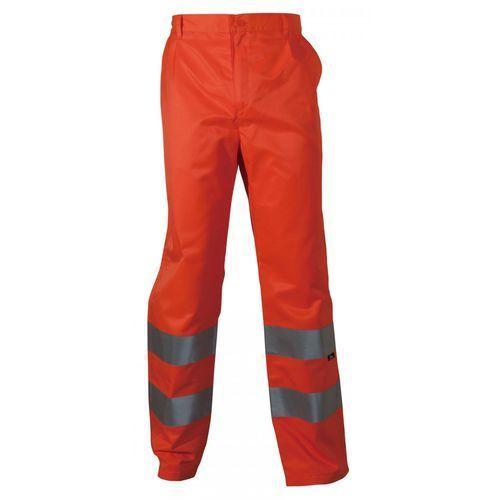Spodnie i kombinezony ochronne, Spodnie robocze ostrzegawcze pomarańczowe, rozmiar M
