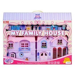 Duży składany domek dla lalek - MEGA CREATIVE