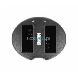 Ładowarka dwukanałowa Newell SDC-USB do akumulatorów LP-E8
