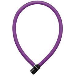 Zapięcie rowerowe AXA Resolute 6 mm x 60 cm w kolorze królewskiego fioletu
