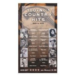 VARIOUS ARTISTS - 100 x No.1 Country Hits (4CD)