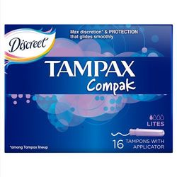 Tampax Compak Lites Tampony 16 sztuk