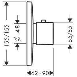 Bateria Hansgrohe Puravida 15772000