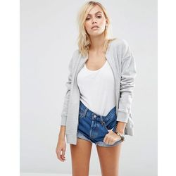 ASOS The Ultimate Bomber Jacket In Jersey - Grey