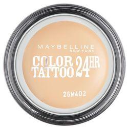 MAYBELLINE Eye Studio Color Tattoo 24 HR cien do powiek w kremie 93 Creme De Nude 4ml