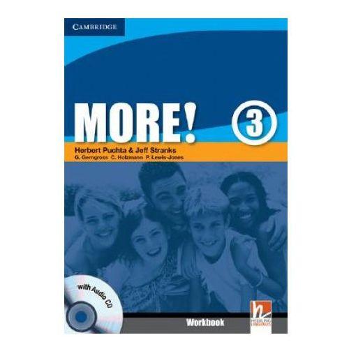 Książki do nauki języka, More!, Level 3, Workbook (zeszyt ćwiczeń) with Audio CD (opr. miękka)