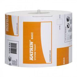Papier toaletowy Katrin Basic System, 1 warstwa, makulatura - 36 rolek