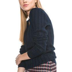 Lacoste Sweter Niebieski 34 Przy zakupie powyżej 150 zł darmowa dostawa.