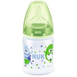 NUK Butelka First Choice Plus Silikon Design: Monster rozmiar 1 od urodzenia