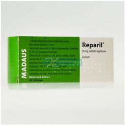 Reparil draż. 0.02 g 40 szt.