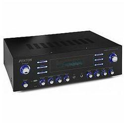 Fenton AV340BT, wzmacniacz surround Hi-Fi, 510 W RMS (2 x 180 W na 8 omach), BT/USB/AUX