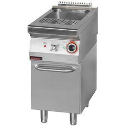 Urządzenie do gotowania makaronu i pierogów elektryczne na podstawie zamkniętej z drzwiami, jednokomorowe 16 l, 6 kW, 400x700x900 mm | KROMET, 700.EUS-400