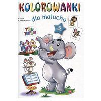 Książki dla dzieci, Kolorowanki dla malucha. Tru tutuu (opr. miękka)