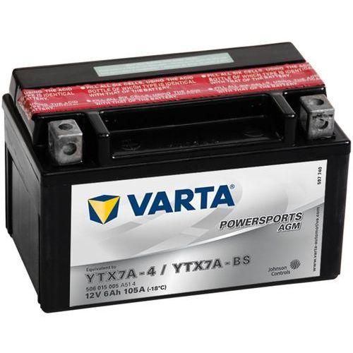 Akumulatory do motocykli, Varta Akumulator motocyklowy Powersports AGM YTX7A-4 / YTX7A-BS Darmowa wysyłka i zwroty
