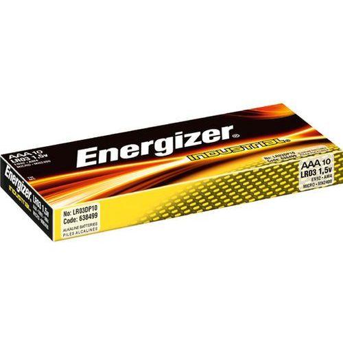 Baterie, Bateria Energizer alkaliczne AAA LR3 Industrial 10szt