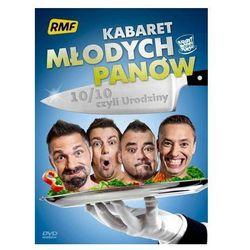 10/10, czyli Urodziny [DVD] - Kabaret Młodych Panów DARMOWA DOSTAWA KIOSK RUCHU