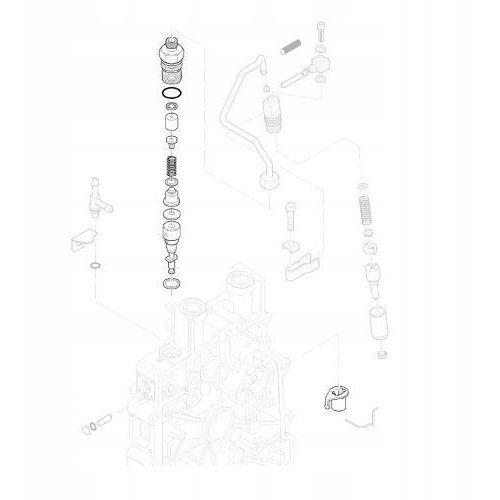 Pompy wtryskowe, HATZ 01322220 Pompa wtryskowa 1B20 Oryginalny