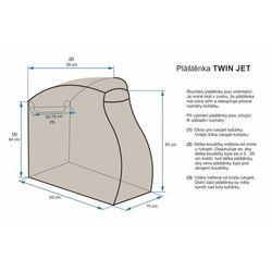Emitex osłona przeciwdeszczowa Twin Jet - BEZPŁATNY ODBIÓR: WROCŁAW!