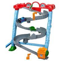 Pojazdy bajkowe dla dzieci, Fisher Price Tomek i Przyjaciele Super Tor zjazdowy Tomka BCX21