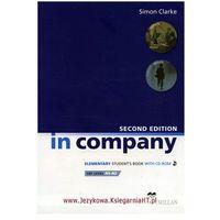 Książki do nauki języka, In Company Elementary, Second Edition, Student's Book (podręcznik) with CD-ROM (opr. miękka)