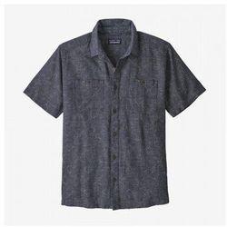Patagonia koszula męska back step shirt - rozmiar m - kolor grafitowy