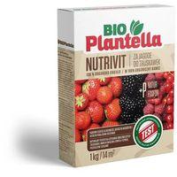 Odżywki i nawozy, Nawóz do truskawek, malin, jeżyn 1kg. Naturalny nawóz organiczny Bio Plantella.