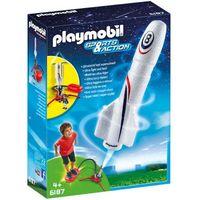 Klocki dla dzieci, Playmobil SPORTS & ACTION Rakieta z wyrzutnią 6187