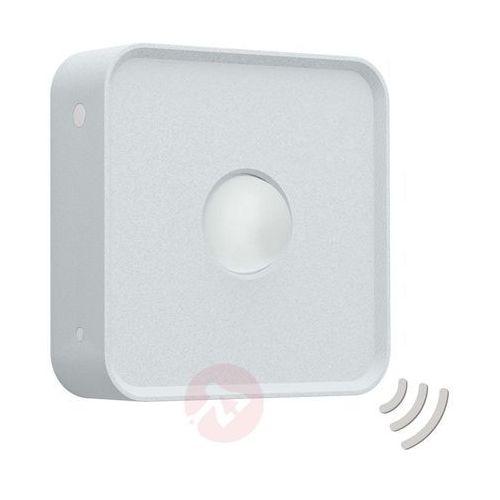 Czujki alarmowe, Eglo 97475 - Zewnętrzny czujnik ruchu CONNECT SENSOR 12 m 3xAA biały