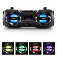 Pozostałe przybory do pisania, Soundblaster M Radioodtwarzacz Bluetooth 3.0 CD/MP3/USB UKF efekt LED 50W RMS