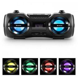 Soundblaster M Radioodtwarzacz Bluetooth 3.0 CD/MP3/USB UKF efekt LED 50W RMS