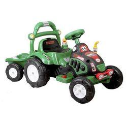 Elektryczny Traktorek + przyczepa ARTI O-KB-6038 zielony - Zielony