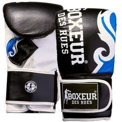 Rękawice bokserskie BOXEUR BXT-5139 (rozmiar M) Czarno-niebieski