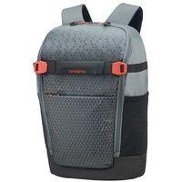 "Pokrowce, torby, plecaki do notebooków, Samsonite Hexa-Packs S miejski plecak na laptopa 14"" / Grey Print - Grey Print"
