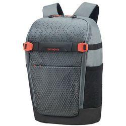 "Samsonite Hexa-Packs S miejski plecak na laptopa 14"" / Grey Print - Grey Print"