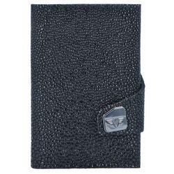 Tru Virtu Click & Slide Sting Etui na karty bankowe Portfel skórzany6,5 cm Aluminium Core black ZAPISZ SIĘ DO NASZEGO NEWSLETTERA, A OTRZYMASZ VOUCHER Z 15% ZNIŻKĄ