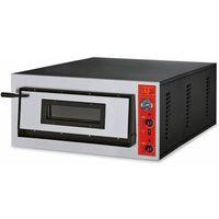 Piece i płyty grzejne gastronomiczne, Piec do pizzy 1-komorowy 7200W | 6x Ø 30cm | 400V