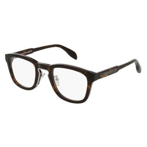 Okulary korekcyjne, Okulary Korekcyjne Alexander McQueen AM0048O 004