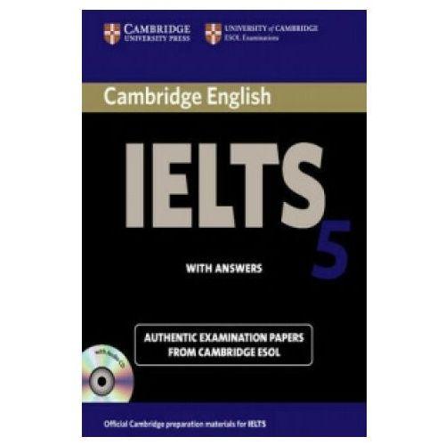 Książki do nauki języka, Cambrigde IELTS 5 Self Study Student&-8217;s Book with answ. /CD gratis/ (opr. miękka)