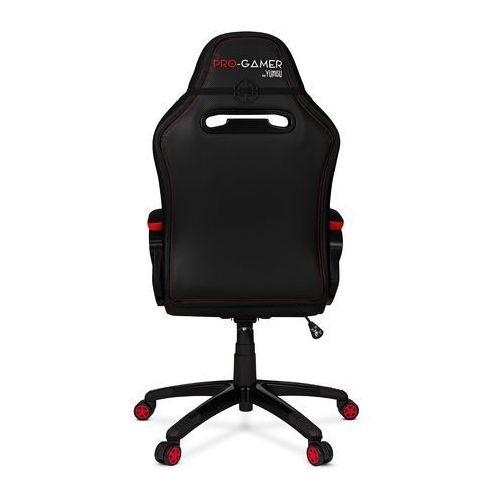 Fotele dla graczy, Fotel gamingowy ATILLA carbon czerwony dla graczy